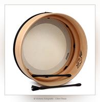 Bodhrán - Ierse trommel - Productfotografie - Door: Ellen Reus - Wolves fotografie