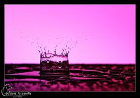 Druppel - Druppelfotografie - Creatieve fotografie - Door: Ellen Reus - Wolves fotografie