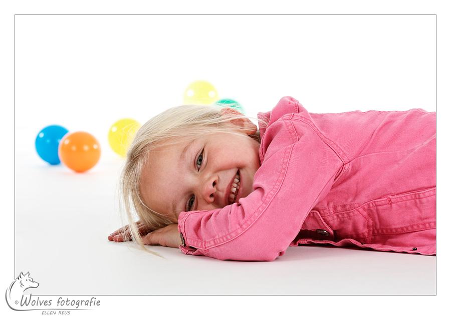 Eva - bijna 5 jaar oud - portretfotografie - kinderfotografie - Door: Ellen Reus - Wolves fotografie
