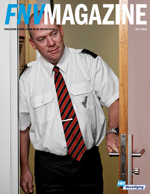 Coverfoto FNV-magazine - Door: Ellen Reus - Wolves fotografie