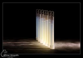 Glowsticks - 6 Inch - Productfotografie - Door: Ellen Reus - Wolves fotografie