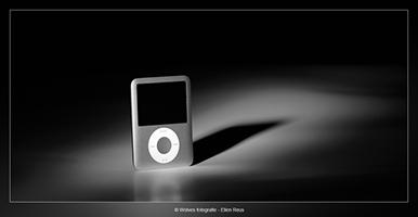 Ipod - Productfotografie - Door: Ellen Reus - Wolves fotografie