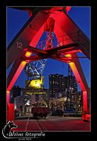 Bij de binnenhaven in Rotterdam - Nachtfotografie - Door: Ellen Reus - Wolves fotografie
