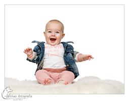 Mia - portretfotografie - babyfotografie - Door: Ellen Reus - Wolves fotografie