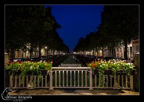 Noodgodsbrug - Gouda - Nachtfotografie - Stedelijk landschapsfotografie - Door: Ellen Reus - Wolves fotografie