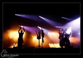 Optreden Omnia tijdens Castlefest 2016 - podiumfotografie - Door: Ellen Reus - Wolves fotografie