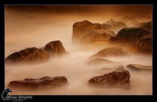 Sfeerfoto - Landschapsfotografie - Lange sluitertijden fotografie - Nachtfotografie - Door: Ellen Reus - Wolves fotografie