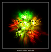 Lichtgevende kerstster - Productfotografie - Door: Ellen Reus - Wolves fotografie