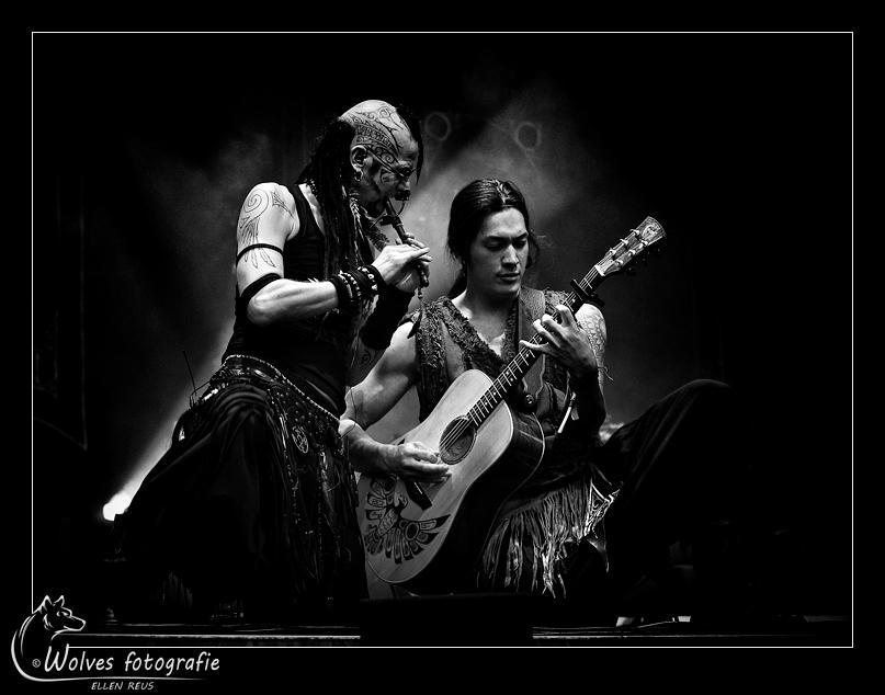 Steve en Satria - Optreden Omnia tijdens Castlefest 2016 - podiumfotografie - Door: Ellen Reus - Wolves fotografie