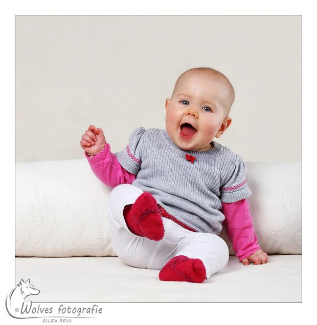 Tess - babyfotografie - kinderfotografie - Door: Ellen Reus - Wolves fotografie