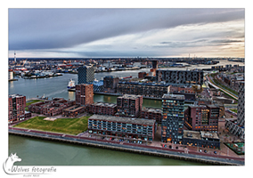 Uitzicht in HDR - Rotterdam - (Stad-) Landschapsfotografie - door: Ellen Reus - Wolves fotografie