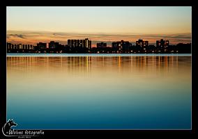 Zegerplas Alphen aan den Rijn - Nachtfotografie - (Stedelijk) Landschapsfotografie - door: Ellen Reus - Wolves fotografie